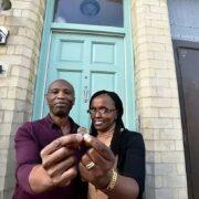 Sam e Rachael Kamau casa 1,12 euro